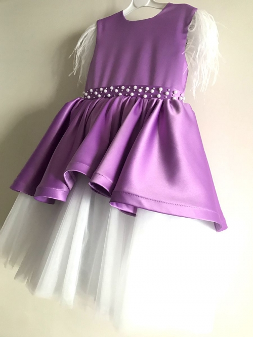 Blooming Lilac | Baby Dress