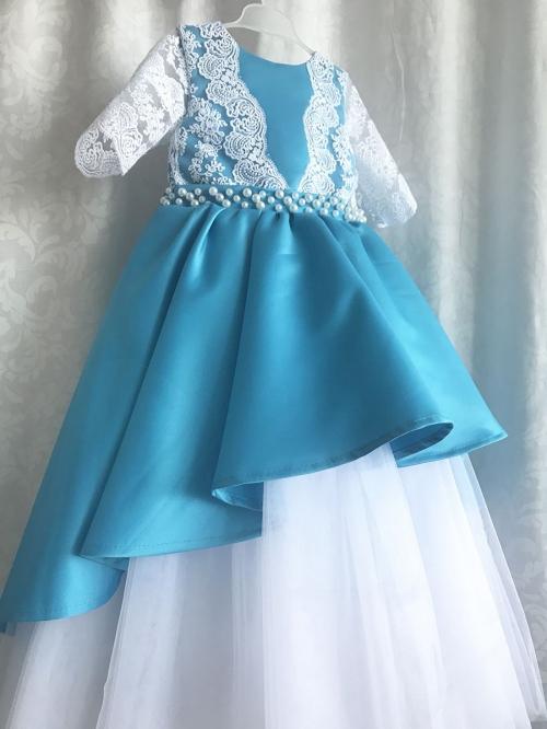 Blue Lagoon | Baby Dress