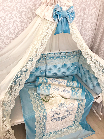 Blue Lagoon | Crib Bedding Set