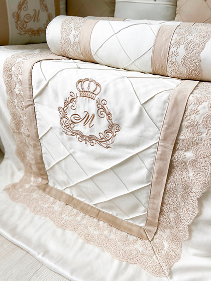 Elegance | Crib Bedding Set