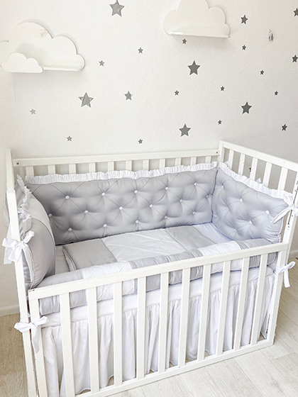 Grey Dreams | Crib Bedding Set