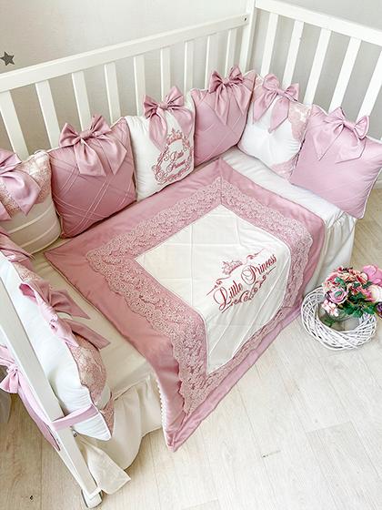 Rose Dreams | Crib Bedding Set