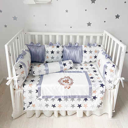 Stars | Crib Bedding Set