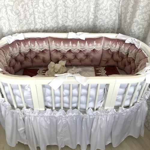 """Crib Skirt 12"""""""