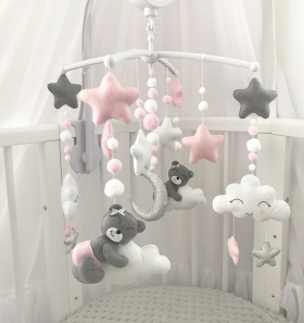 Animals Crib Mobile