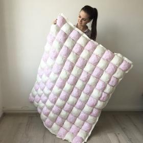 Quilt - Pompon   Quilt Design 3