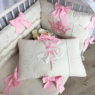 Ballerina | Crib Bedding Set