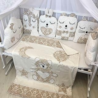 Children's Damascus | Crib Bedding Set