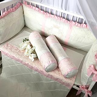 Cream | Crib Bedding Set