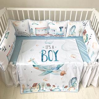 Fun Train | Crib Bedding Set