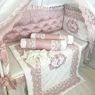 Luxury with swaddling clothes | Crib Bedding Set
