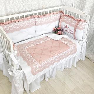 The Powder Empire | Crib Bedding Set
