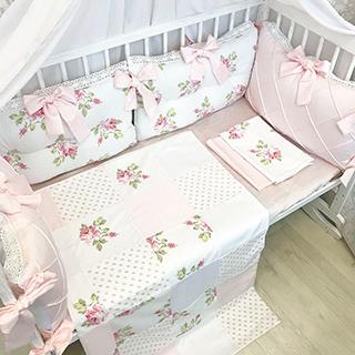 Shebby Shick | Crib Bedding Set