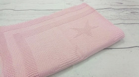 Stars Pink | Luxe Baby Blanket