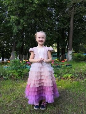 Pink Rainbow   Baby Dress