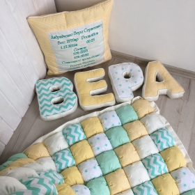 Letters Pillows