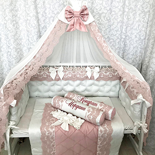 Milkshake | Crib Bedding Set