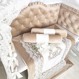 Sandy childhood | Crib Bedding Set
