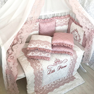 Tea Rose | Crib Bedding Set