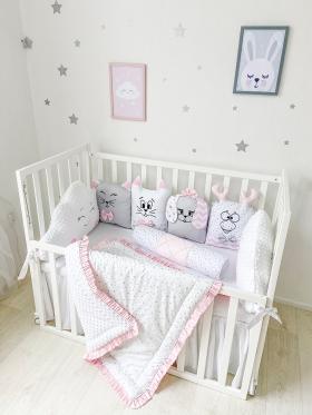 Pink Cloud | Crib Bedding Set