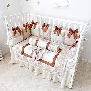 Belissimo | Crib Bedding Set