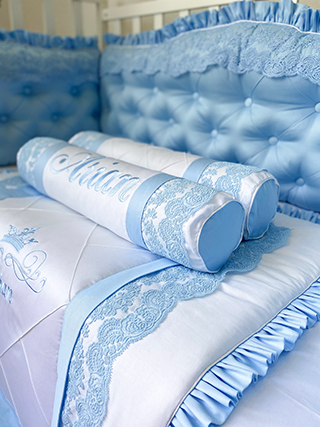 Blue Origin | Crib Bedding Set