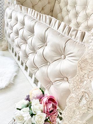 De Luxe | Crib Bedding Set