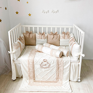 Elegance | Crib Bedding Set