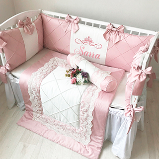 Fiori | Crib Bedding Set