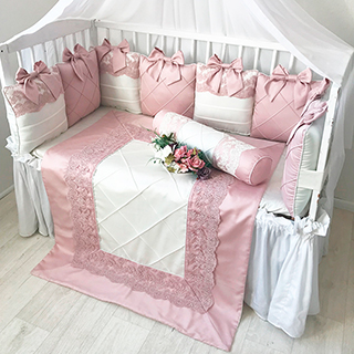 Mon Cheri | Crib Bedding Set