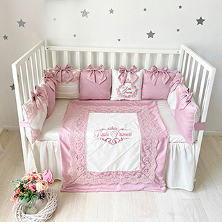 Rose Dreams | Crib Bedding Set
