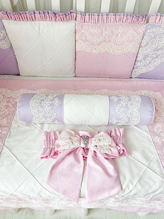Royal Akvarel | Crib Bedding Set