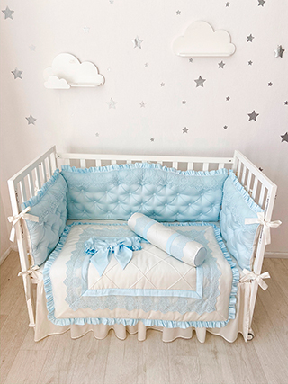Royal Blue | Crib Bedding Set
