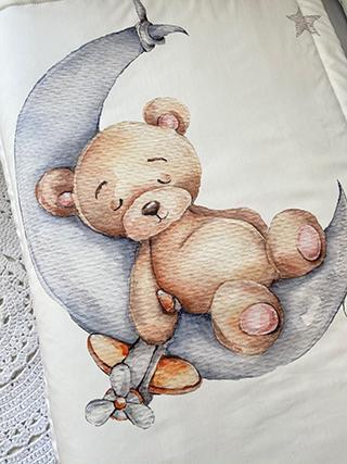 Teddy Bear | Crib Bedding Set