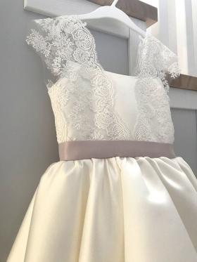 Milky Tenderness | Baby Dress