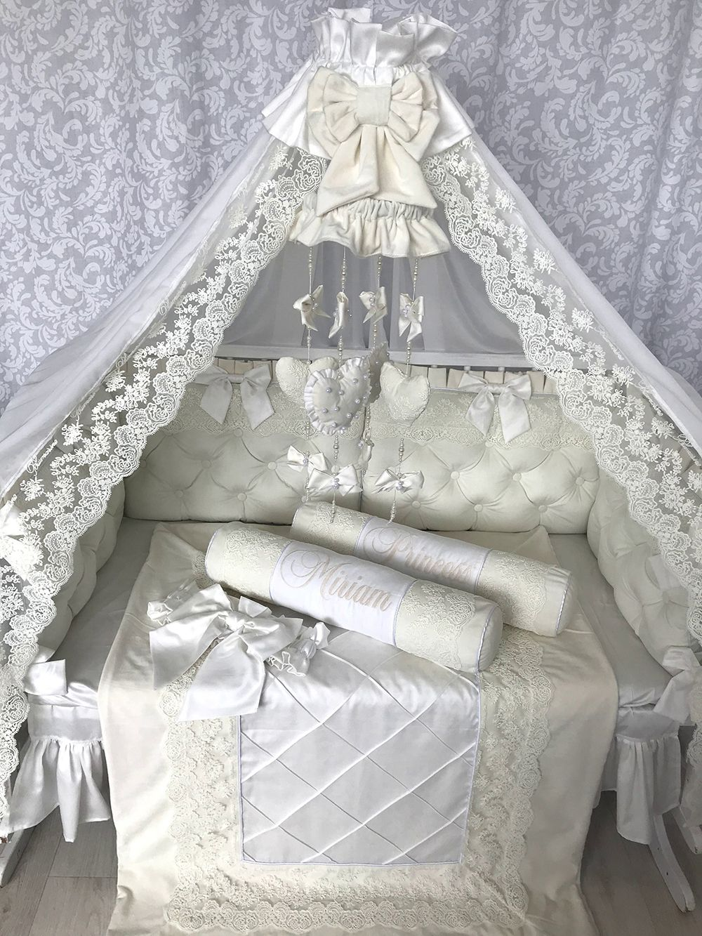 Milky Velour | Crib Bedding Set